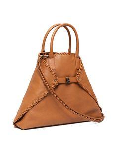 2016 NMF17_L20RB Akris leather shoulder bag. removal strap $2390