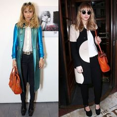 Suki Waterhouse style This girl is a repeat offender