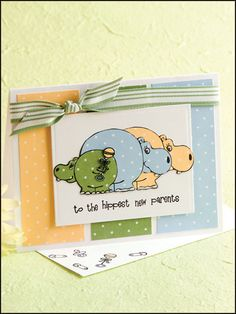 Hippest New Parents Card