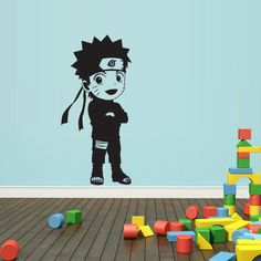 Wall Decal Mural Sticker Anime Manga Naruto Boy by StickersForLife, $27.99