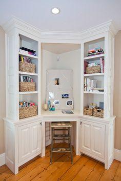 Corner Desk Ideas...for The Front Room Home Office Design, Home Office