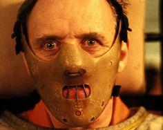 Hannibal Lecter por Anthony Hopkins  em O Silêncio dos Inocentes