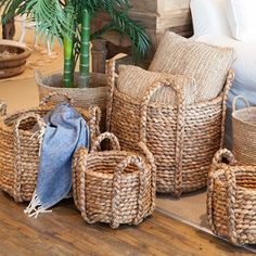 Seagrass Basket Styled Two