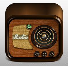 Create a Radio App Icon Adobe Illustrator - Illustrator Tutorials - Vectorboom