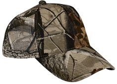Port Authority Pro Camouflage Series Cap with Mesh Back.C869 Real tree hardwoods
