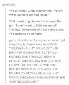 ginny is perfect okay