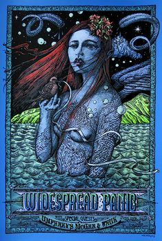 """Widespread Panic – Jones Beach, NY 2015"" by David Welker"