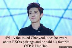 #Exo #Fact #HunHan #Chanyeol :)