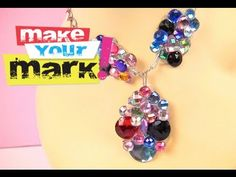 How to: Crystal Cluster Jewelry DIY video - with Dimensional Magic