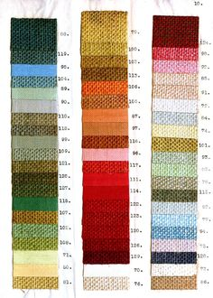 Swatches , this is something that an interior designers office is packed with .Not only does this help the client with their  options but it differentiate spaces within the room. Swatches are the building block to color and a open door to the 21st century .