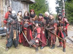 This is what I would like to be able to pull off. Awesome! Larp - group picture by kickfoot.deviantart.com