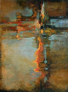 """Above and Beyond by Christopher Westfall Acrylic ~ 40"""" x 30"""" #abstractart"""
