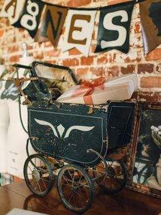 Host a Steampunk-Style Baby Shower >> http://www.diynetwork.com/decorating/host-a-steampunk-style-baby-shower/pictures/index.html?soc=pinterest