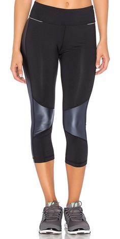 cfe411d2420 On SALE at 20% OFF! Blocked Crop Legging by ALALA. Nylon blend.