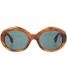 Tortoiseshell acetate sunglasses - Dries Van Noten