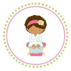 Topper para Cupcakes Spa