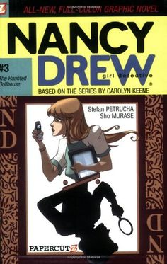 The Haunted Dollhouse (Nancy Drew Graphic Novels: Girl Detective #3) by Stefan Petrucha http://www.amazon.com/dp/1597070084/ref=cm_sw_r_pi_dp_fngZtb0SQPPT77S2