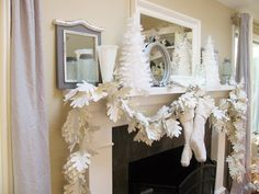 DIY Paper Garland Home decor for the holidays can be expensive, and this DIY paper garland craft is so inexpensive to make. If you have the time and love paper as much as I do, you'll want to try this beautiful paper garland. I must warn you that it is a time-consuming DIY project, …