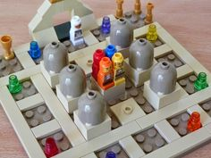 Lego Board Game, Lego Boards, Board Games, Games, Game Boards, Lego Ideas, Gaming, Tabletop Games, Table Games