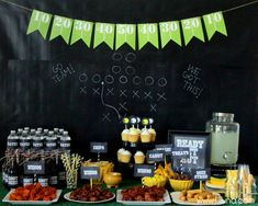 Football Party Ideas! #football