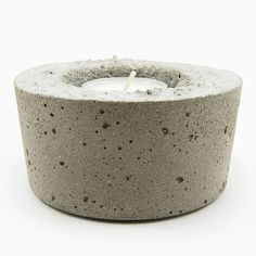 Concrete Candle Holder - Large
