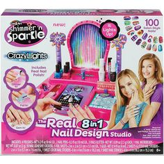 fashion design shimmer sparkle real super salon playset