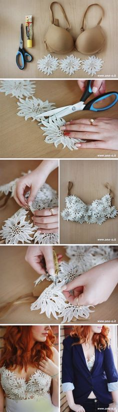 8 Life Changing Bra Hacks Every Girl Should Know - For Creative Juice life. - 8 Life Changing Bra Hacks Every Girl Should Know – For Creative Juice life hacks hacks for teens - Sewing Hacks, Sewing Crafts, Sewing Projects, Fabric Crafts, Sewing Ideas, Art Crafts, Diy Projects, Bh Tricks, Bra Hacks