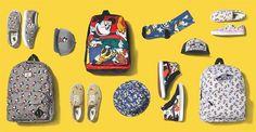 Una colaboración mágica presenta a los personajes más emblemáticos de Disney interpretados con la estética Vans: http://www.estiloymoda.com/articulos/vans-disney-pv2015.php