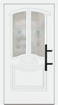 Haustür landhaus weiß  Kunststoff Haustür Modell 342-25 weiß | Türen | Pinterest ...