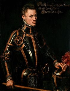 William of Orange, or William the Silent led the Dutch to fight for freedom from the Spanish during the Thirty Year's War. What a babe!