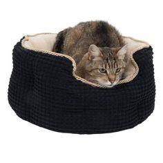 34f96b0c8b01 Panier Cozy Kingdom pour chat Petit panier rond extrêmement confortable,  avec rebord particulièrement élevé,