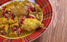 Curry de pollo y granada | Demos la vuelta al día