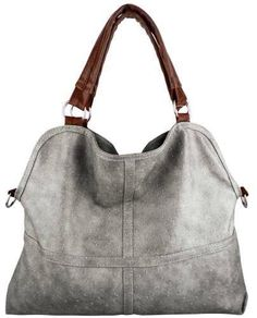 Roll over image to zoom in MG Collection LUCIA Everyday Free Style Beige Tan Soft Embossed Ostrich Double Handle Oversized Hobo Satchel Purse Handbag Tote Bag (Gray) Mk Handbags, Handbags Michael Kors, Purses And Handbags, Handbags Online, Unique Handbags, Designer Handbags, Satchel Purse, Purse Wallet, Denim Armband