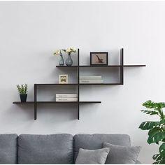 Keyon 3 Tier Ladder Accent Wall Shelf