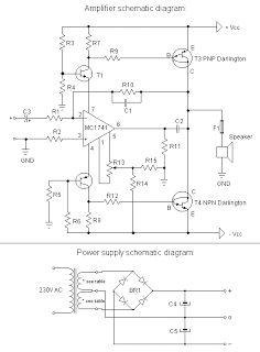 140 watt audio amplifier using 6 transistors electronics motorola hi fi power amplifier diy electronics projects ccuart Gallery