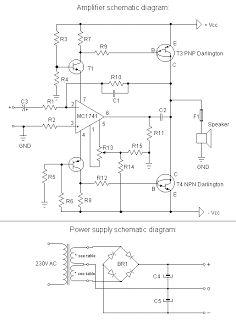 Motorola Hi-Fi Power Amplifier | DIY Electronics Projects