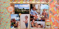 Time together - Scrapbook.com  Easy layout to copy!