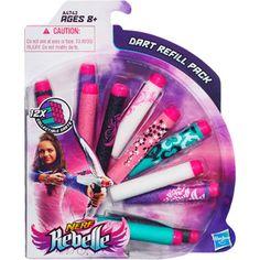 Nerf Rebelle Dart Refill Pack -walmart $6