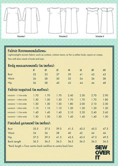 Ultimate Shift Dress Sewing Pattern – Sew Over It's Online Fabric Shop