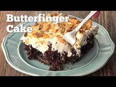 Butterfinger Cake! | Southern Plate