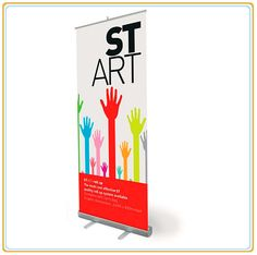 Outdoor Budget Roll up Banner Stand for Advertising Display