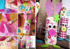 ★ ✄ DIY Easter Bunnies / DIY Lapin de Pâques Récup ★ ✄  www.creamalice.com