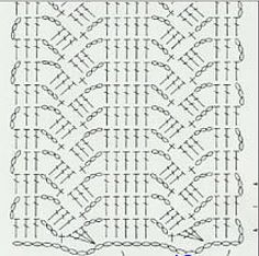 crochet stitch diagram.