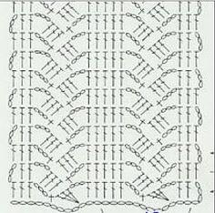 crochet stitch diagram.