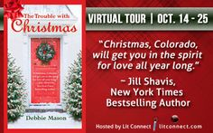 The Trouble with Christmas by @AuthorDebMason is gaining tons of praise, and just started its tour today! There's also a HUGE #Christmas basket #giveaway! http://events.litconnect.com/the-trouble-with-christmas-by-debbie-mason/