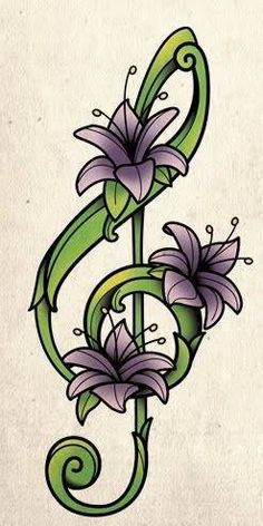 On the lower part of my forearm. Music Tattoos, Tatoos, Treble Clef Art, Salsa Music, Music Pics, Music Wallpaper, Flower Canvas, Little Designs, Piano Music