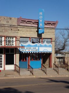 Old Royal Theater (Archer City, Texas)    Made famous by the Larry McMurtry book and movie The Last Picture Show