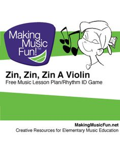 Zin! Zin! Zin! A Violin | Musical Instrument Identification Game - Game Instructions and Free Printable Posters of Instruments