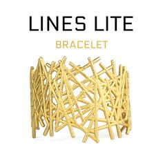 Lite version of Lines bracelet http://shpws.me/z8hv #3dprinting #fashion #jewelry