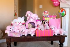 the cutest party idea for a little girl!